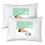 "2-Pack Celeep Baby Toddler Pillow Set 13/"" x 18/"" Toddler Bedding Small"