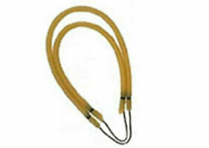 Sling-1-2-inch-Pole-Spear-Sling-1-2-034-Amber-heavy-duty-band-rubber-fish-string