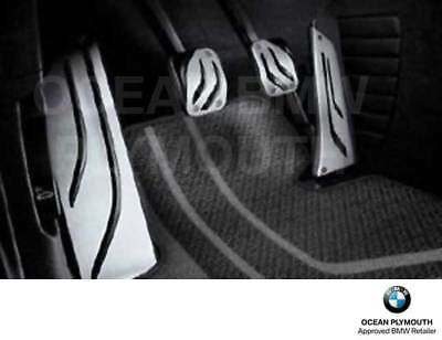 Pedals, Footrests & Plates BMW Genuine M Performance Stainless ...