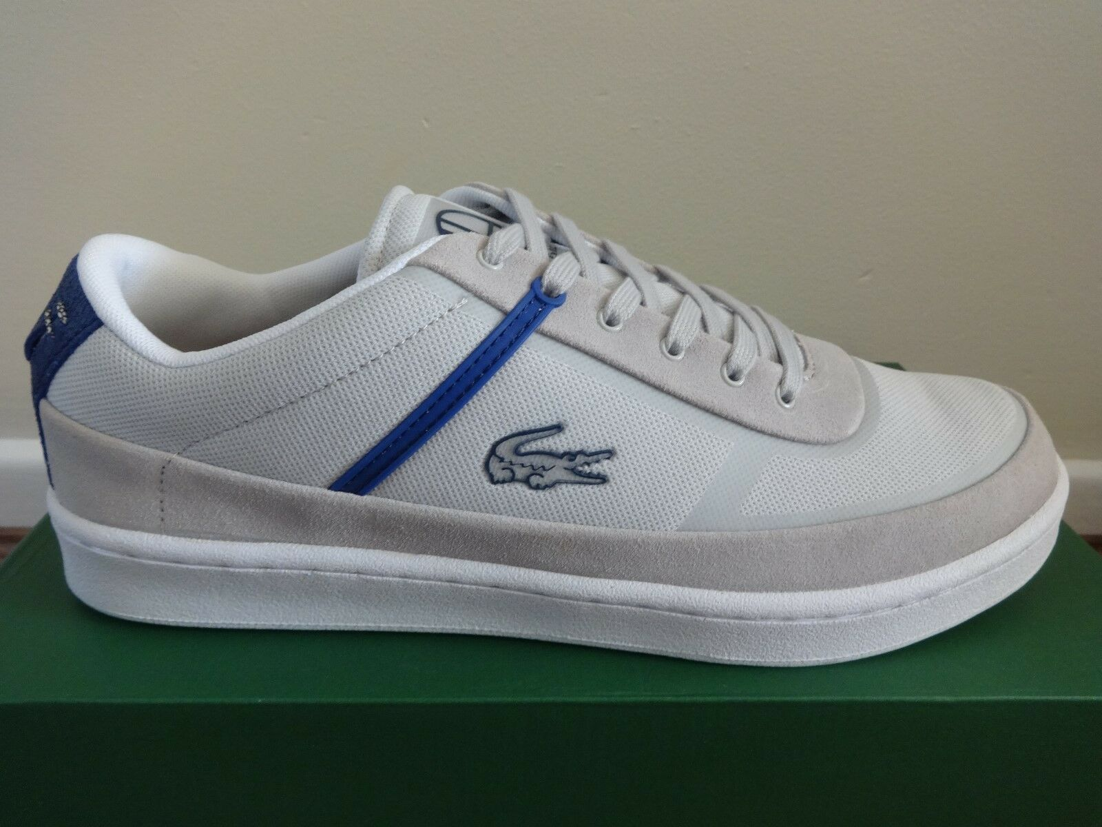 Lacoste Sport Court Line NWP SPM LT mens trainers sneakers shoes NEW+BOX