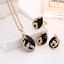 Women-Heart-Pendant-Choker-Chain-Crystal-Rhinestone-Necklace-Earring-Jewelry-Set thumbnail 10