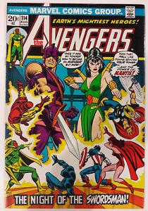 Avengers-114-1st-Mantis-cover-amp-3rd-comic-appearance-John-Romita-cover-1973