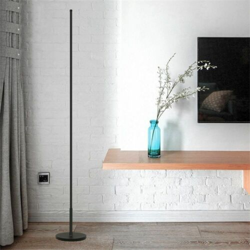 LED Floor Lamp Dimming Tricolor Living Room Decorate White Color Wall Fixtures