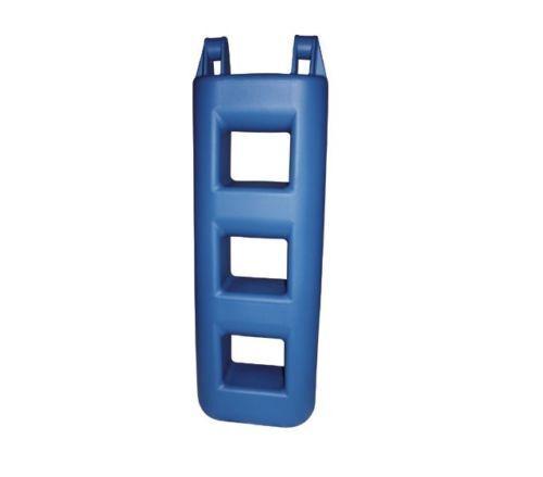 Treppenfender weiß oder blau2 oder 3 Stufen Stufenfender Bootsfender