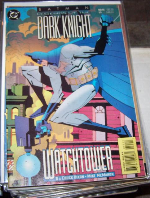 Batman: Legends of the Dark Knight #55 (Dec 1993, DC) WATCHTOWER