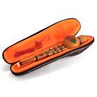 Chinese Hulusi Gourd Cucurbit Flute Bb Yunnan Ethnic Instrument + Case