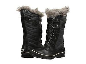 ac703d41d5f0 NIB SOREL WOMENS TOFINO II LACE BLACK SNOW WINTER BOOTS WATERPROOF ...