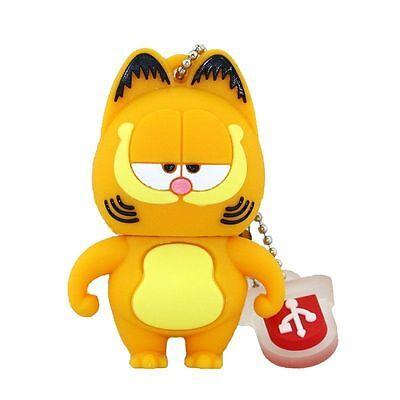 Cartoon Garfield USB 2.0 Memory Stick Flash pen Drive 4GB 8GB 16GB 32GB AP116