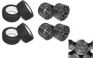 Thunder Tiger Reifen & Jantes 1:8 Micro-servo Digital Haute Qualité Taille Rue