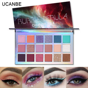 UCANBE-Eyeshadow-Palette-Makeup-Eye-Shadow-Shimmer-18-Colors-Matte-Cosmetic-vvfs