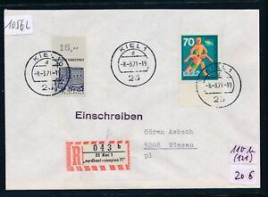10562) Spécial R-ticket De Kiel Nordboot + Campina 71, Lettre K2 8.3.71-afficher Le Titre D'origine