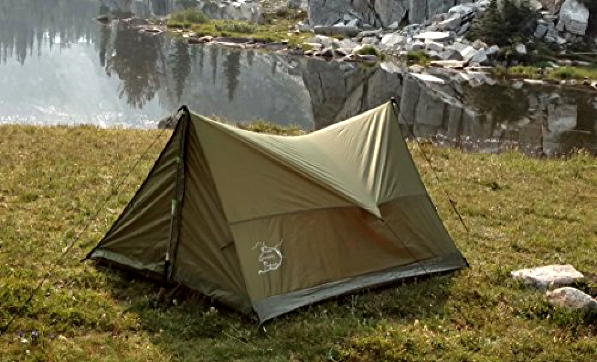 River Country Products Trekking Pole Tent, Ultralight Backpacking Tent, 2 Person