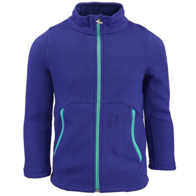 Spyder Boys Endure Stryke Knit Full Zip Jacket Blue