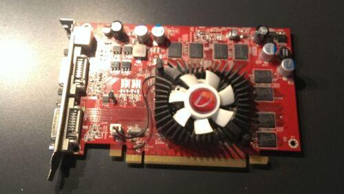 USED VIVISIONTEK VT-400585SM RADEON VT 3650 PCIE 512MB VDO CARD