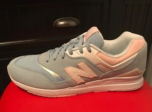 Details about Women's New Balance 697 Running shoes size 9.5 Blue Classic Old School Sneakers