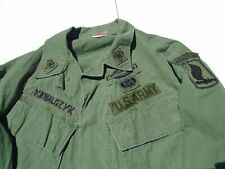 Vietnam War Jungle Jacket Uniform with Theater Made 173rd Airborne Name rank