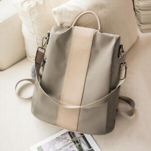 Convertible-Water-Resistant-Backpack-Rucksack-Daypack-Purse-Shoulder-Bag-Hobo