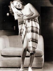 Detalles De Marilyn Monroe Desnuda Retrato Estirada Lona Pared Arte Movie Poster Print Modelo Ver Título Original