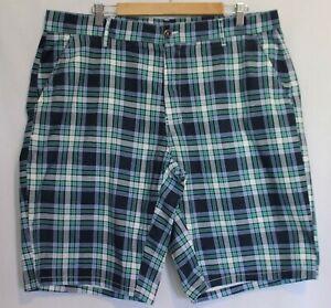 ef7db0cf07 U.S POLO ASSN. ~ Mens Green Blue White Plaid Check Cotton Tailored ...