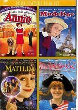 Annie / Madeline / Matilda / Pippi Longstocking DVD