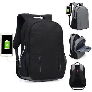 Waterproof Anti Theft Computer Bag Pack Travel Laptop Backpack