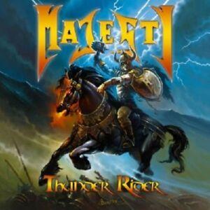 MAJESTY-THUNDER-RIDER-CD-10-TRACKS-HARD-039-N-039-HEAVY-HEAVY-METAL-NEU