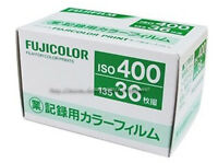 5Rolls FUJI 400 iso COLOR 135 36exp 35mm Film Print Limited Edition Fresh