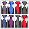 Black Blue Red Black Purple Pure Polka Dot New Classic Silk Men's Tie Necktie DO