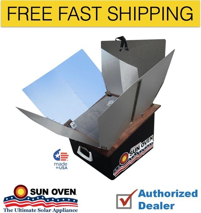 New All American Sun Oven- The Ultimate Solar Cooking Appliance, Free Shipping