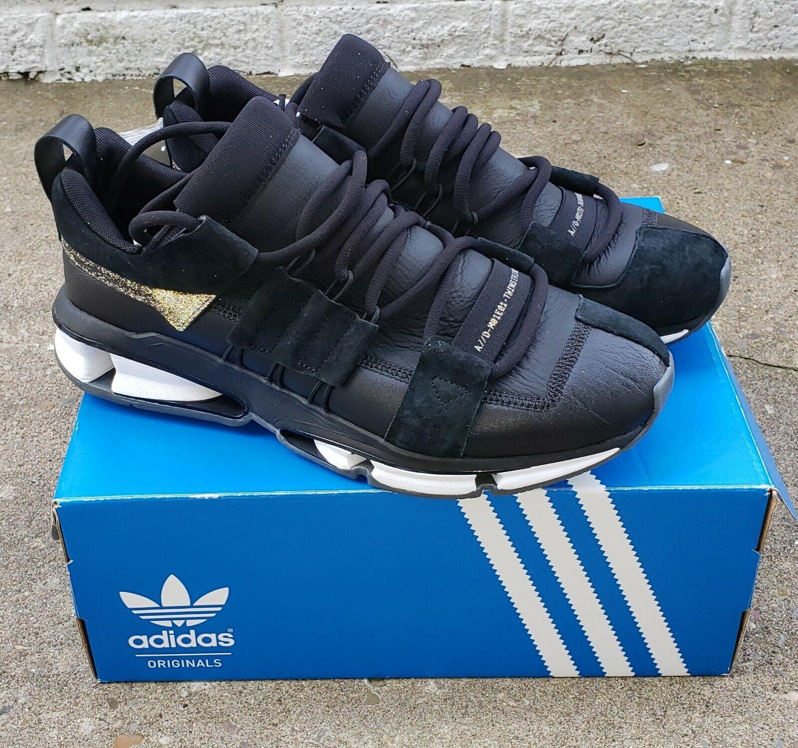 Adidas Originals Mens Twinstrike ADV Stretch Leather shoes Sz 10 B28015