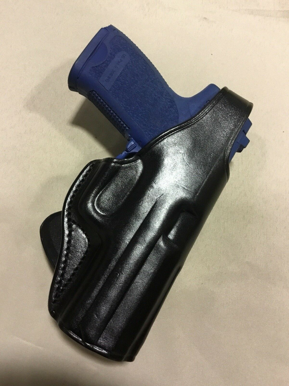 Leather PADDLE Holster S&W M&P   2.0, H&K USP   VP9   VP40. (BLK)