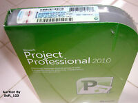 Microsoft Project 2010 Professional For 2 Pcs Full Version Ms Pro=brand Box=