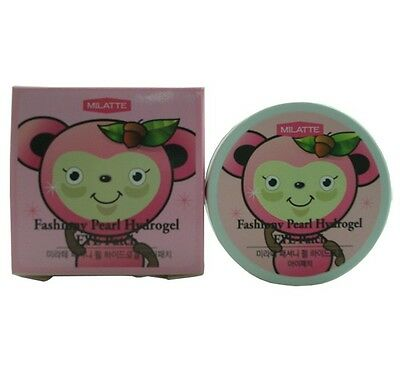 Milatte Fashiony Pearl Hydrogel Eye Patch 60pcs ; Korea Cosmetics