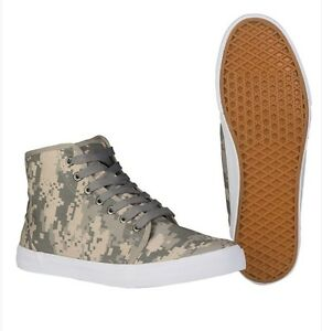 Army Sneaker High Top at-digital Tarn-Turnschuhe Camo-Sneaker