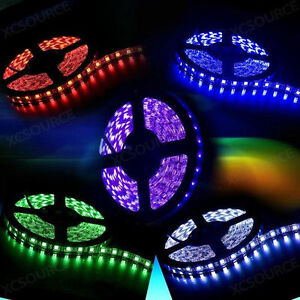 5050-Flexible-Strip-LED-Light-Various-Colors-amp-Remote-amp-Power-Adapter-For-Home-Deco