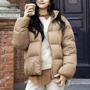 7cad3ad8a86 NWT Uniqlo Women Ultra Light Down Volume Jacket Puffer Coat Brown ...