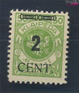 Memelgebiet-185-postfrisch-1923-Aushilfsausgabe-8731678