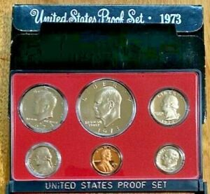 1973 United States PROOF Coin Set US Mint OGP