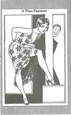 1920s USA Time Exposure Pretty Girl Cartoon Penny Arcade Card Postcard Size