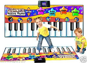 Children-Kids-Giant-Electronic-Keyboard-Piano-Musical-Playmat-Toy-Instrument