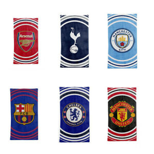 752fb1bbb45 Image is loading Football-Kids-Boys-Gift-Cotton-Pulse-Towel-Arsenal-