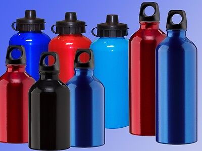 Grüne Aluminium Trinkflasche 500 ml Sportflasche Fahrradflasche