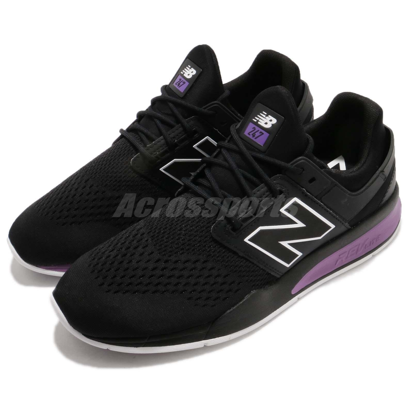 New Balance MS247TO D Black Black Black Purple White Running