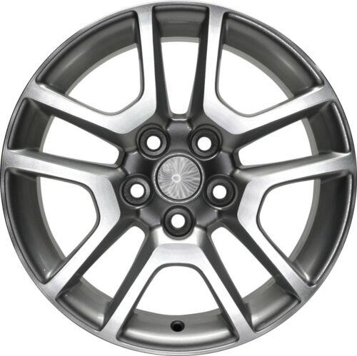 Wheel 13-14 Chevy Malibu 17 Inch Alloy Rim 5 Lug 120mm Silver Machined /& Painted