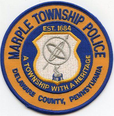 LEHIGH TOWNSHIP  WAYNE COUNTY  PENNSYLVANIA  PA  POLICE PATCH   FREE SHIPPING!!!