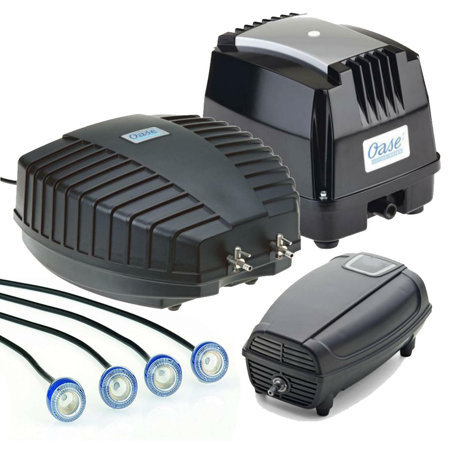 OASE AQUAOXY POND AIR PUMPS WATER OXYGEN AERATOR FLOW POND SYSTEM CLEANER
