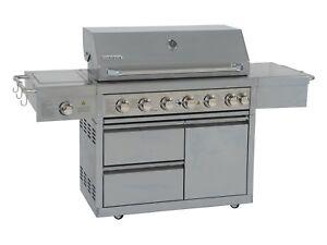 Coobinox-Edelstahl-Gasgrill-6-Brenner-Jumbo-Grill-Grillwagen-Griller-Backburner