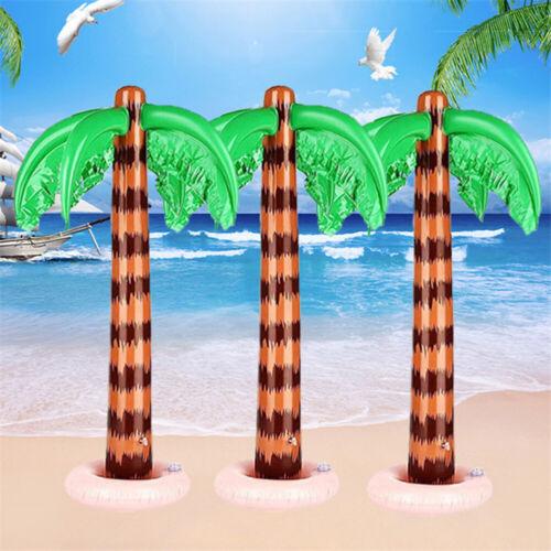 2x Aufblasbare Blow Up Palme Hawaiian Tropical Pool Beach Party Dekoration