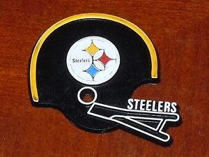 5823c2b8 PITTSBURGH STEELERS Vintage NFL RUBBER Football FRIDGE MAGNET ...