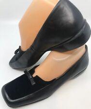 d41b77675b8 ENZO ANGIOLINI Shoes Smoking Flats 7M LOAFER Black Velvet   Leather Slip On